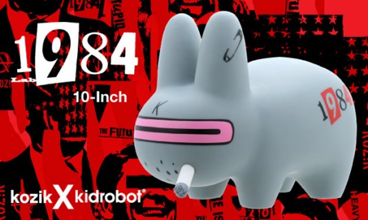 "Frank Kozik Kidrobot ""1984"" Labbit"